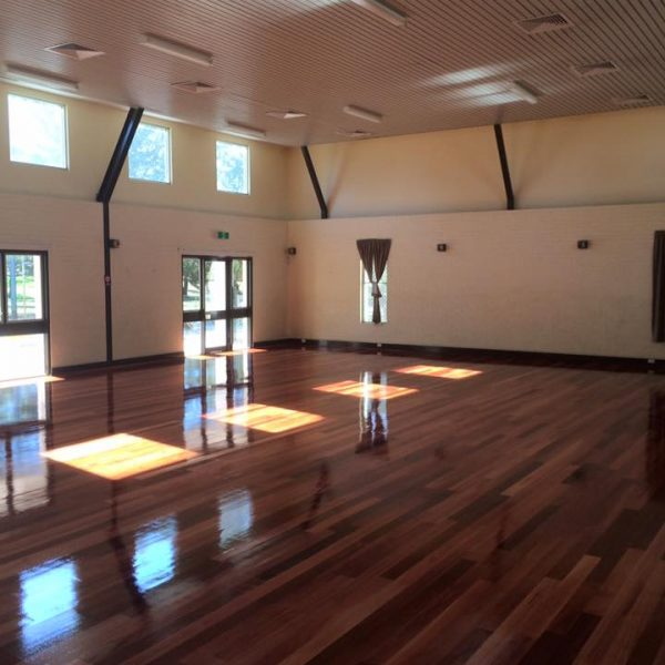 Floor Sanding Perth by Dempsey Flooring - Alf Faulkner hall in Bassendean 600x600