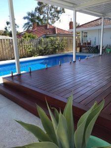 Deck Refinishing in Perth - what to look for? - Blue gum Decking 225x300