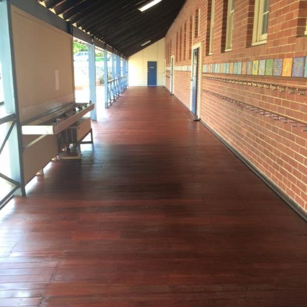 Floor Sanding Perth by Dempsey Flooring - restoration claremont primary sand and seal 600x600