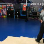 Perth Floor Sanding Price Guide - youth center applying oil 150x150